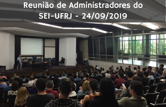 Reunião Administradores SEI-UFRJ